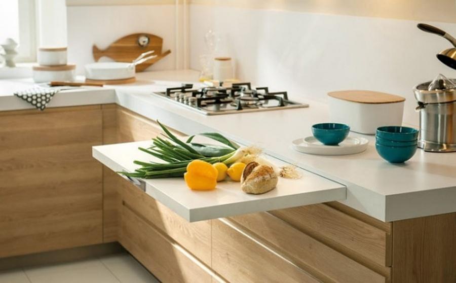 Come scegliere il piano di lavoro per la cucina - Necessario
